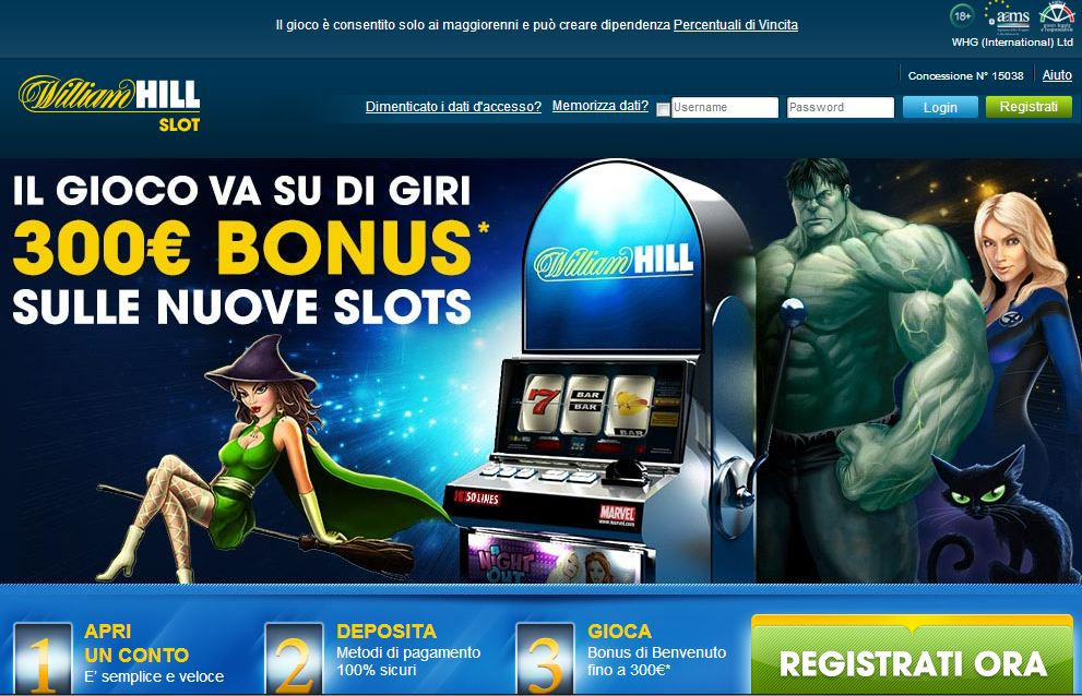 william hill online slots faust slot machine